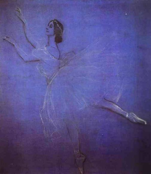 The Portrait of Anna Pavlova