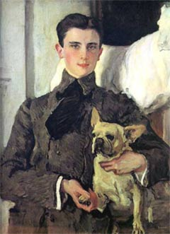 The Portrait of Felix Yusupov