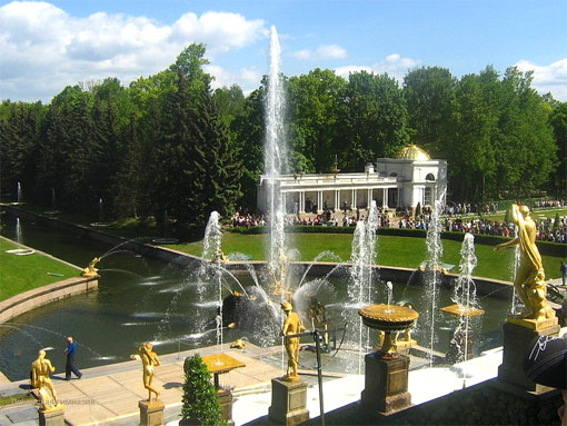Peterhof (Petrodvorets) Great Cascade